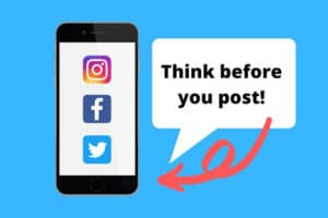 Think before you post - social media reputation